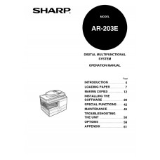 Sharp printer Manuals and review
