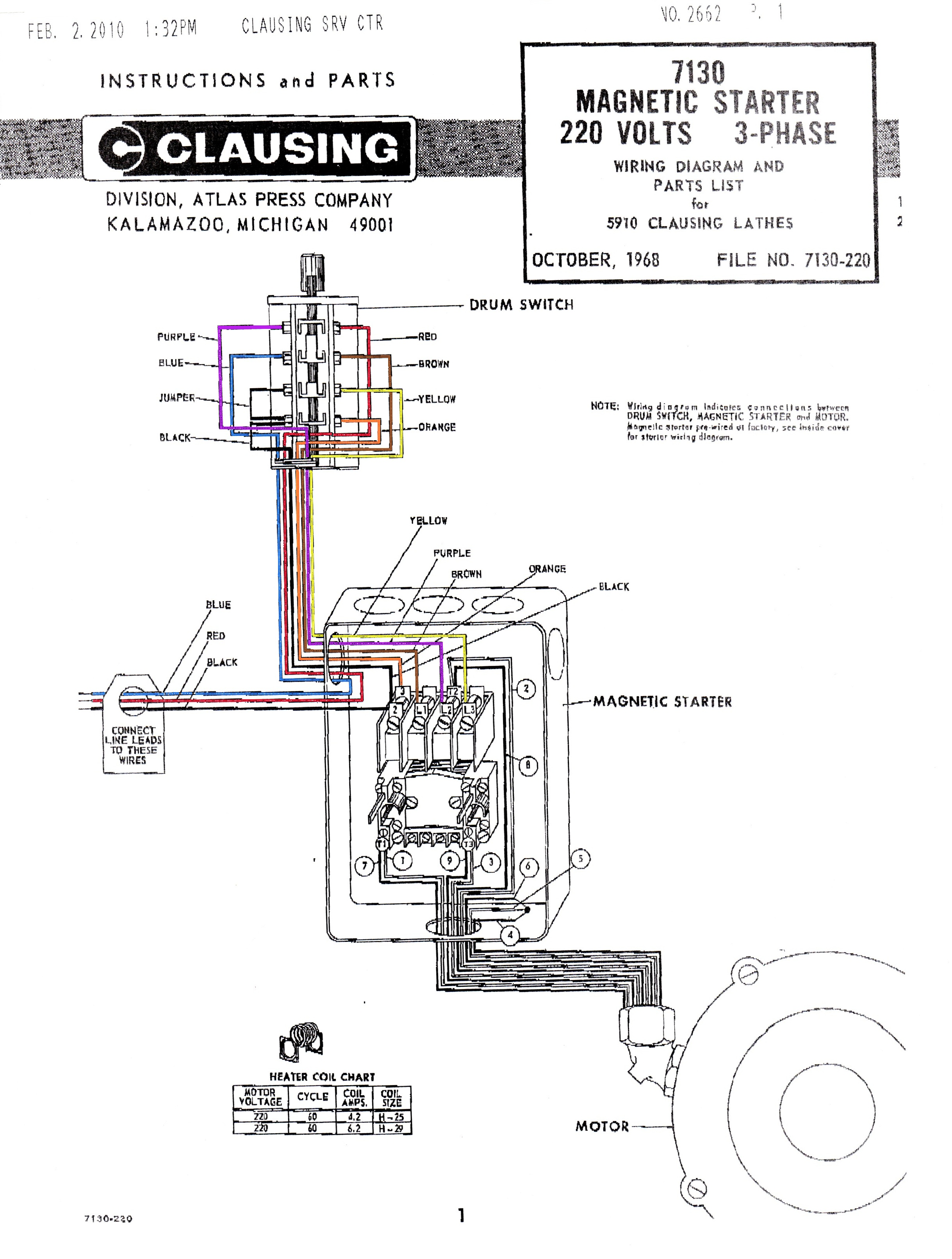 three phase contactor wiring diagram wb one tonner 3 motor starter relay allen bradley