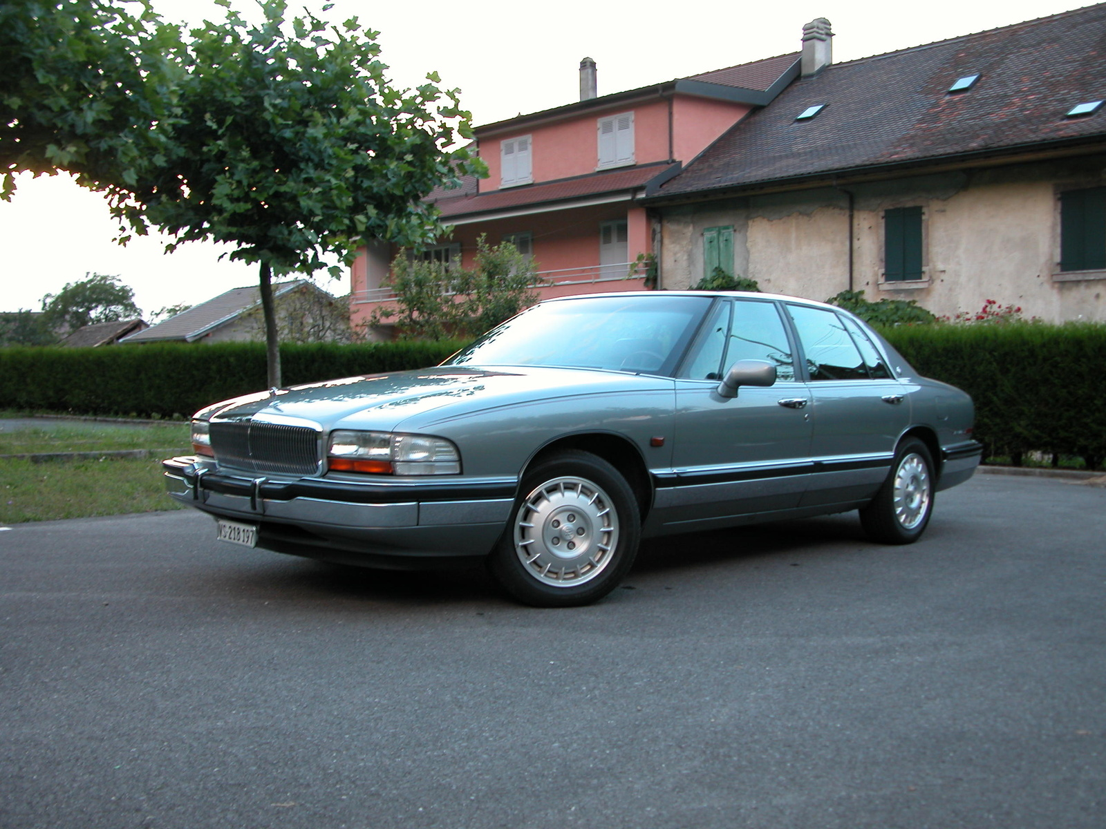 hight resolution of buick park avenue