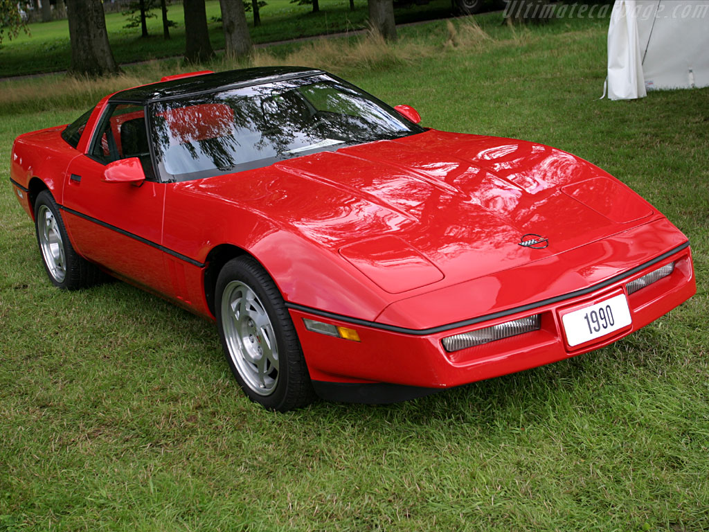 hight resolution of corvette c4