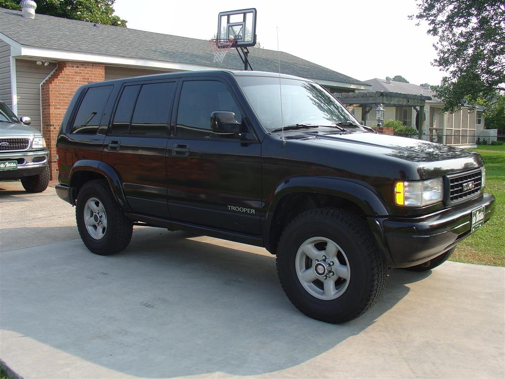 hight resolution of isuzu trooper