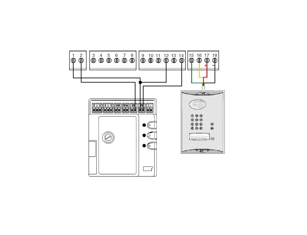 medium resolution of daitem to mhouse simplified wiring diagram marantec wiring diagram marantec wiring diagram marantec garage door opener