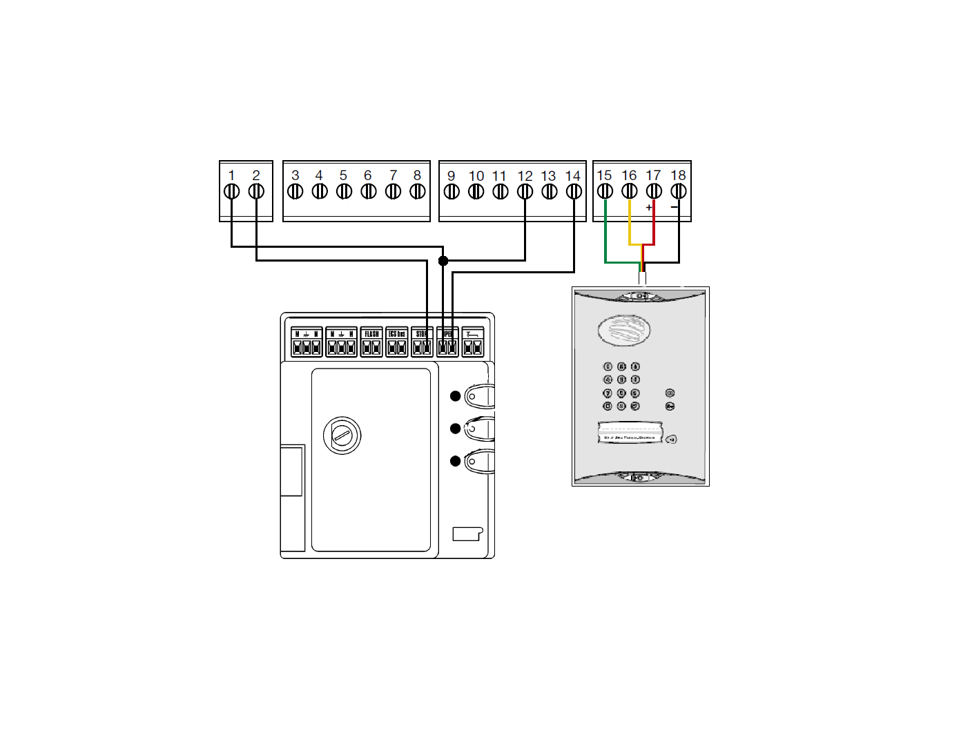 hight resolution of daitem to mhouse simplified wiring diagram marantec wiring diagram marantec wiring diagram marantec garage door opener
