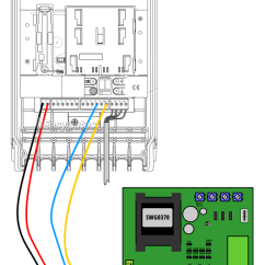 Garage Door Wiring Diagram Typical Hoa Daitem Sc9200au Controller To Liftmaster Cb11 Control Panel
