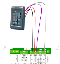 wiring schematic ard liftmaster garage door and gate openers garage door opener keypad along with keypad [ 1240 x 1694 Pixel ]