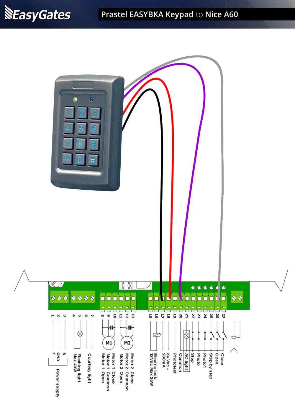 medium resolution of keypad wiring diagram