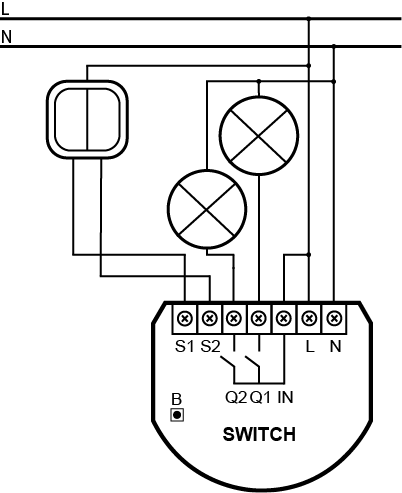 How To Connect The Light Switch