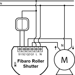 2 Way Switch Diagram Wiring Ford Ranger Fuse Panel Roller Shutter | Fibaro Manuals