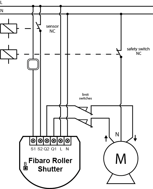 For Fire System Wire Diagrams Roller Shutter 2 Fibaro Manuals