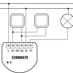 Electricity Wiring Diagrams 2004 Ford F150 Trailer Diagram Dimmer 2 Light Controller | Fibaro Manuals