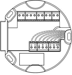 Schema Verdrahtung Intercom Commax