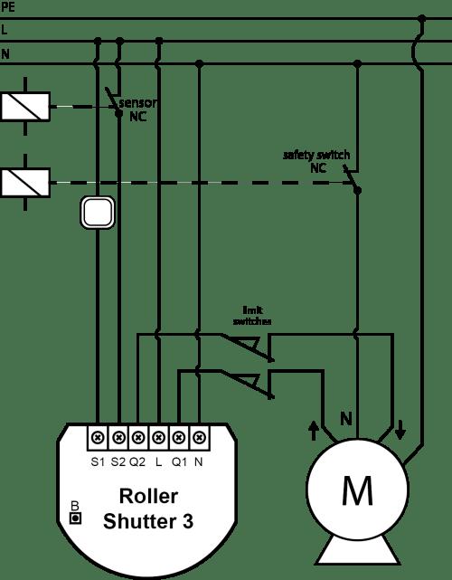 small resolution of roller shutter 3 fibaro manuals rolling shutter motor control circuit diagram