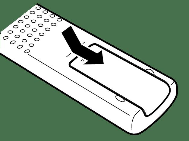 Einlegen der Batterien SA-10