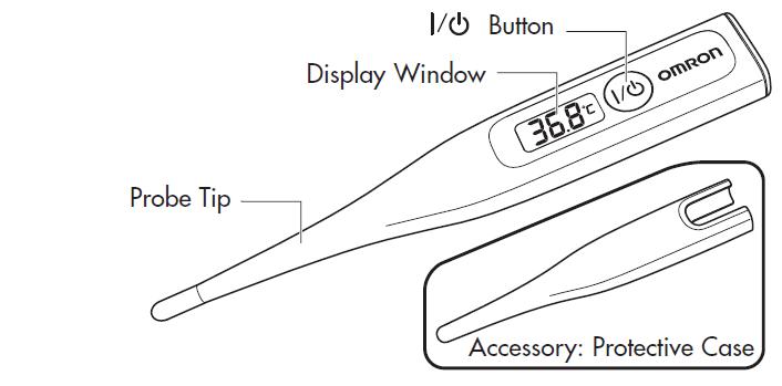 Omron MC-246 GentleTemp Thermometer Instruction Manual