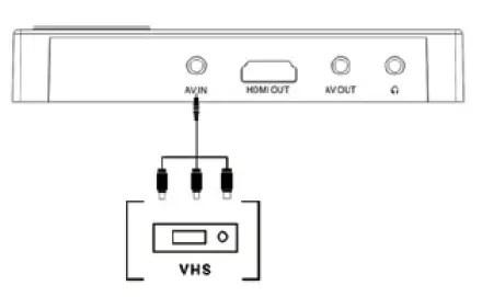 Sharper Image 휴대용 비디오 컨버터 사용 설명서-Manuals