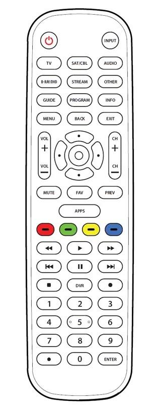 How To Program Onn Universal Remote : program, universal, remote, 6-Device, Universal, Remote, Guide, Manuals+