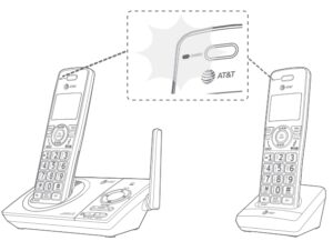 AT&T Dect 6.0 Cordless Telephone [CL82219, CL82229