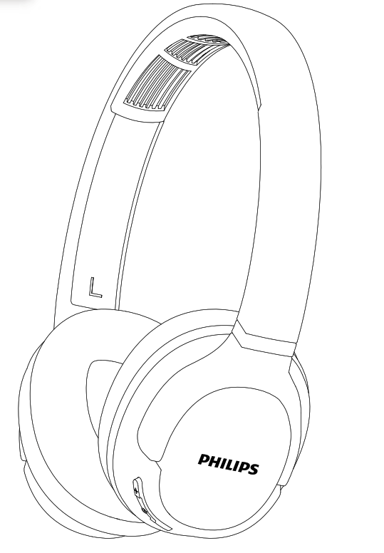 Philips ActionFit SH402 Bluetooth wireless headphones User