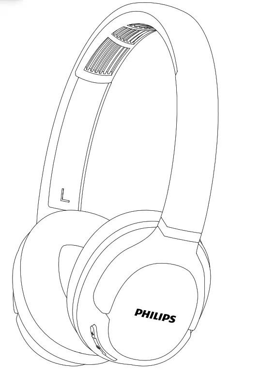 Philips ActionFit SH402 Bluetooth wireless headphones User