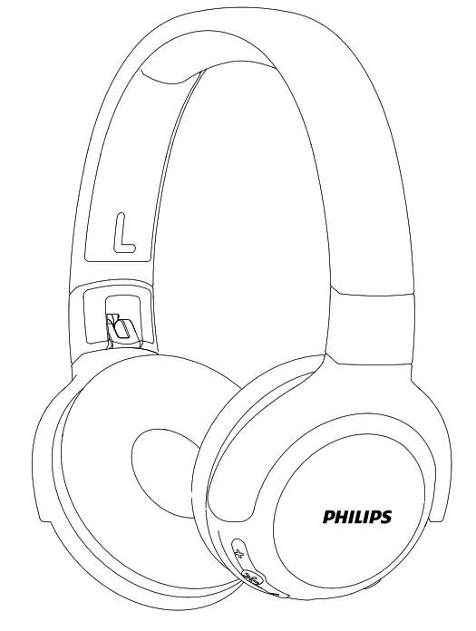 Philips CoolPlay KH402 Cuffie wireless per bambini