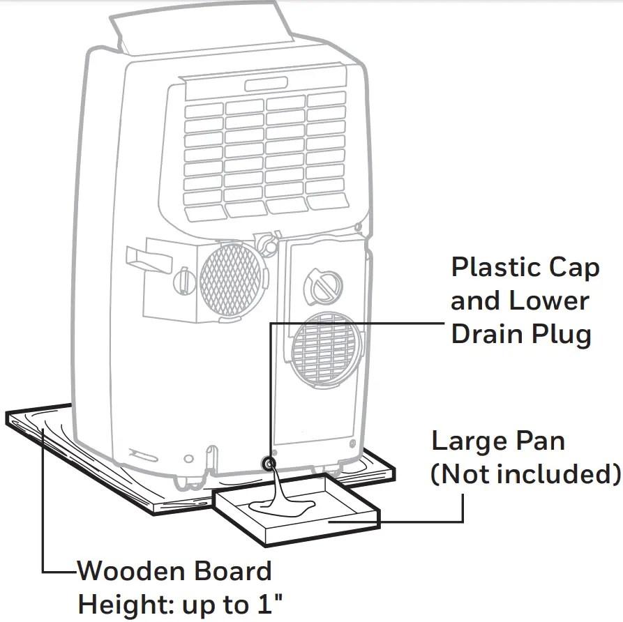 Aire acondicionado portátil Honeywell, manual del usuario