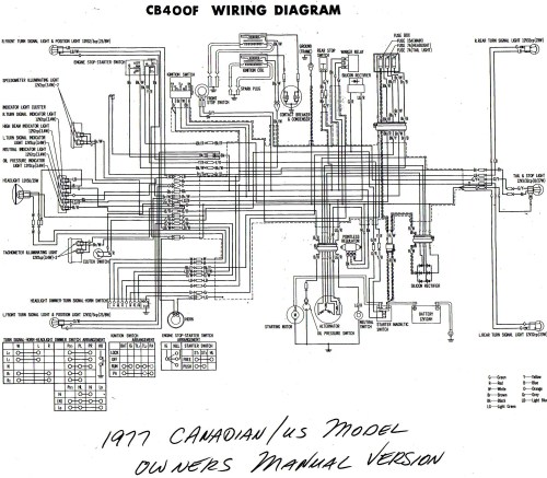 small resolution of  1977 cb400f wiring diagram us canada b w