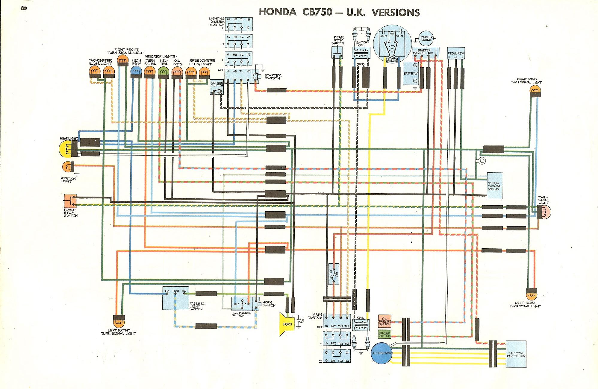 cb750 sohc wiring sohc free printable wiring diagrams