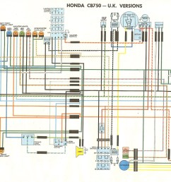 cb750k wiring diagram wiring diagram for you wiring diagram honda cb750f [ 1997 x 1300 Pixel ]