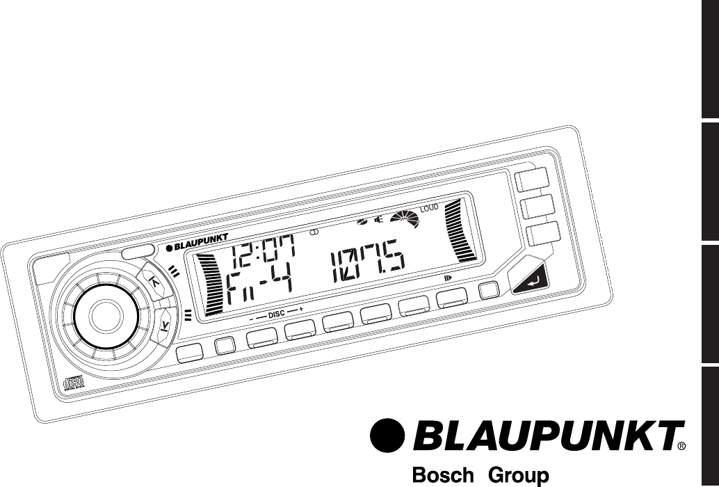 Blaupunkt Instruction Manual
