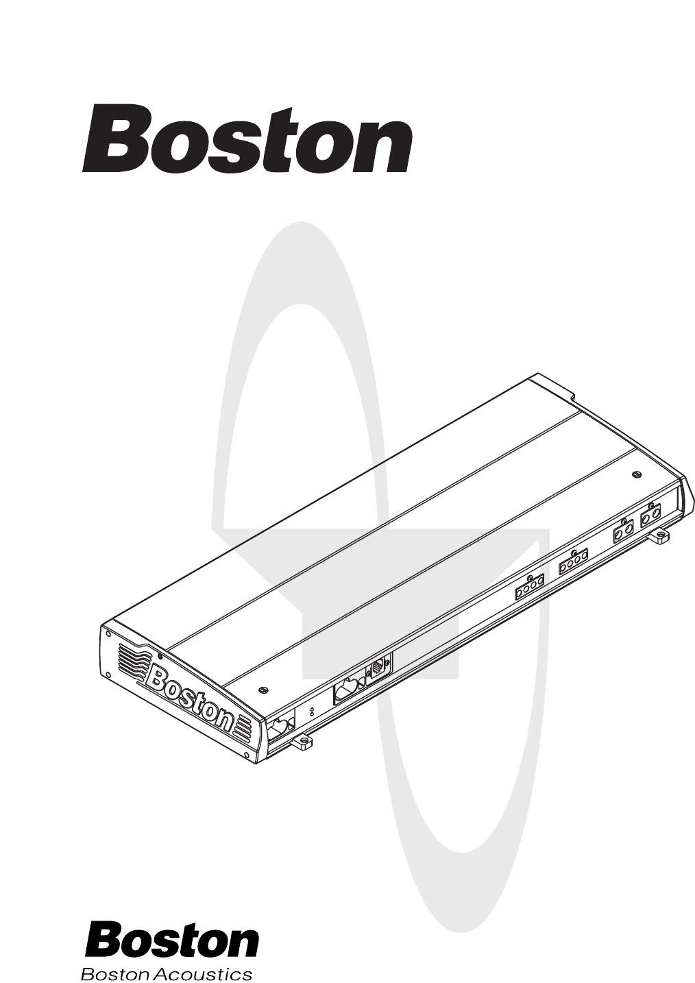 Download Boston Acoustics Car Stereo System GT-42 manual