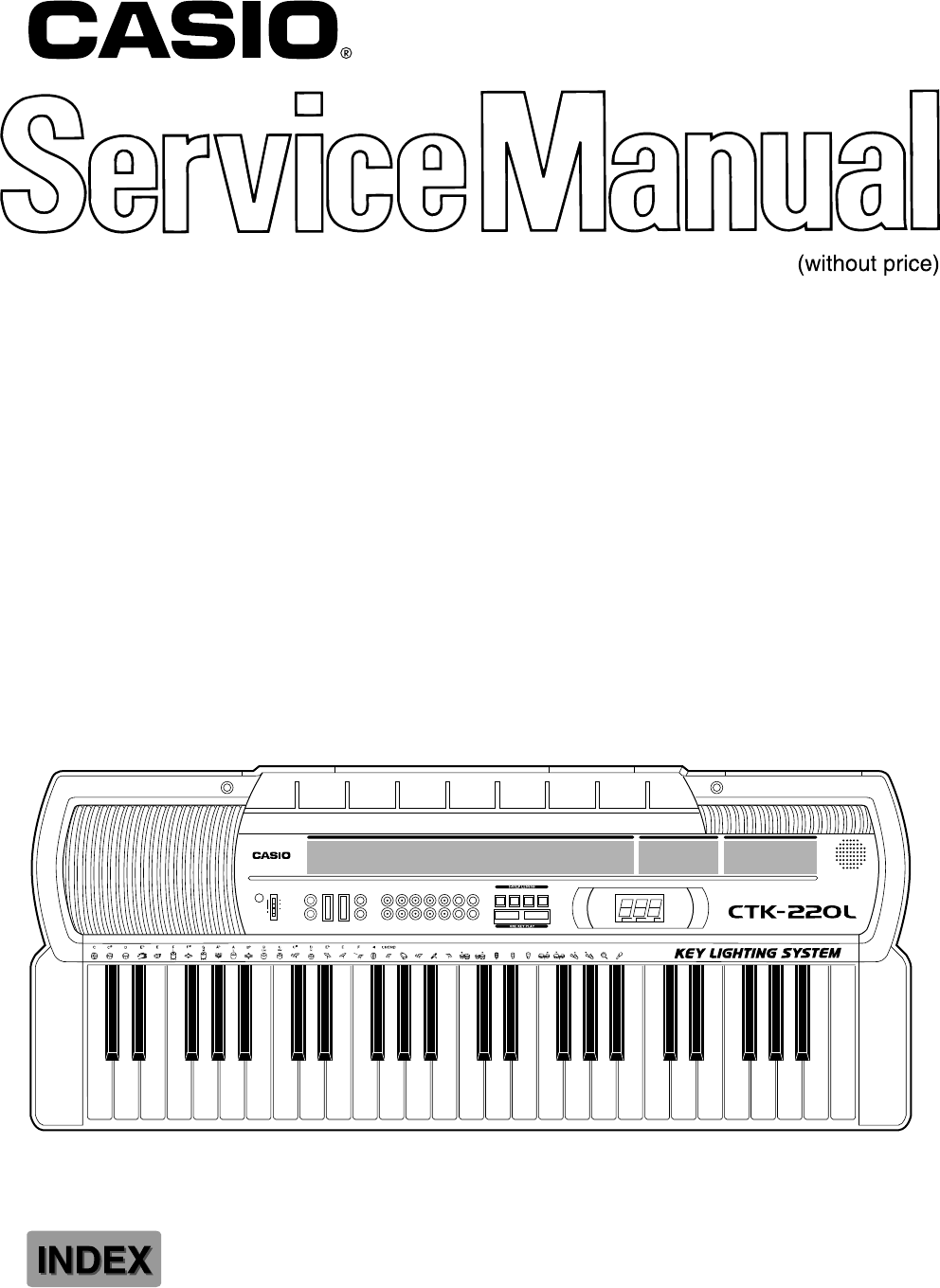 Download Casio Electronic Keyboard CTK-220L manual and
