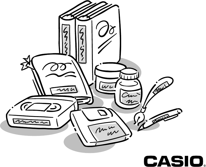 Download Casio Label Maker KL-100 manual and user guides