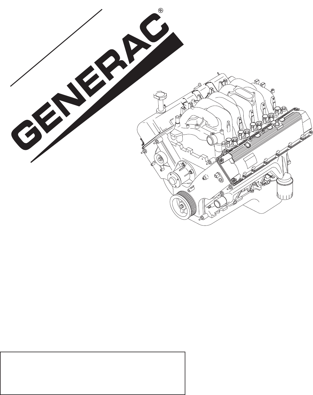 Download Generac Automobile Parts 0H0923PMNL manual and