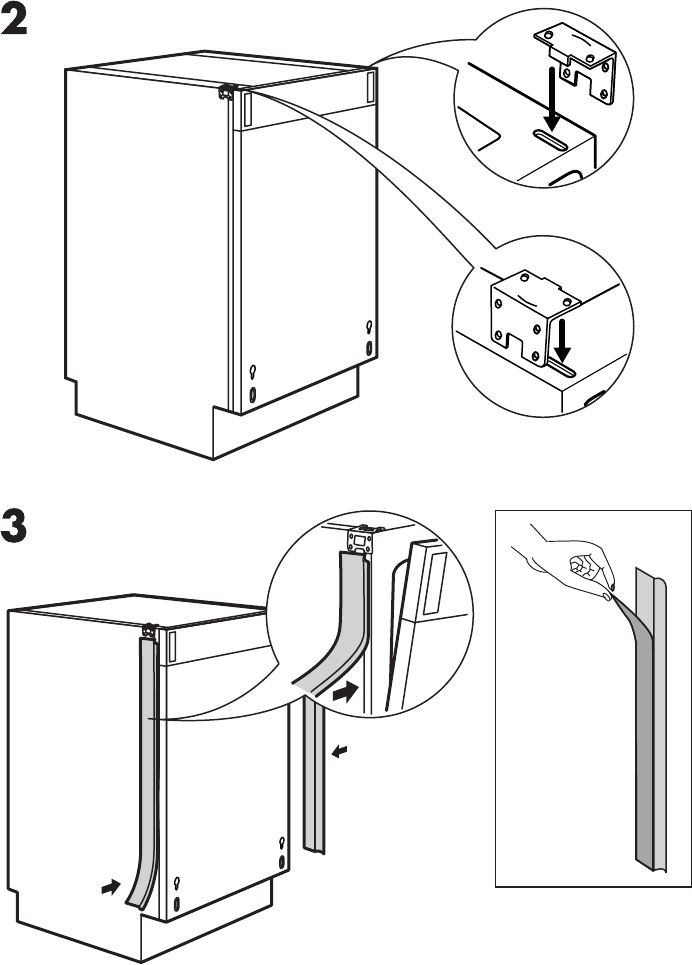 Download IKEA Dishwasher DWT160 manual and user guides