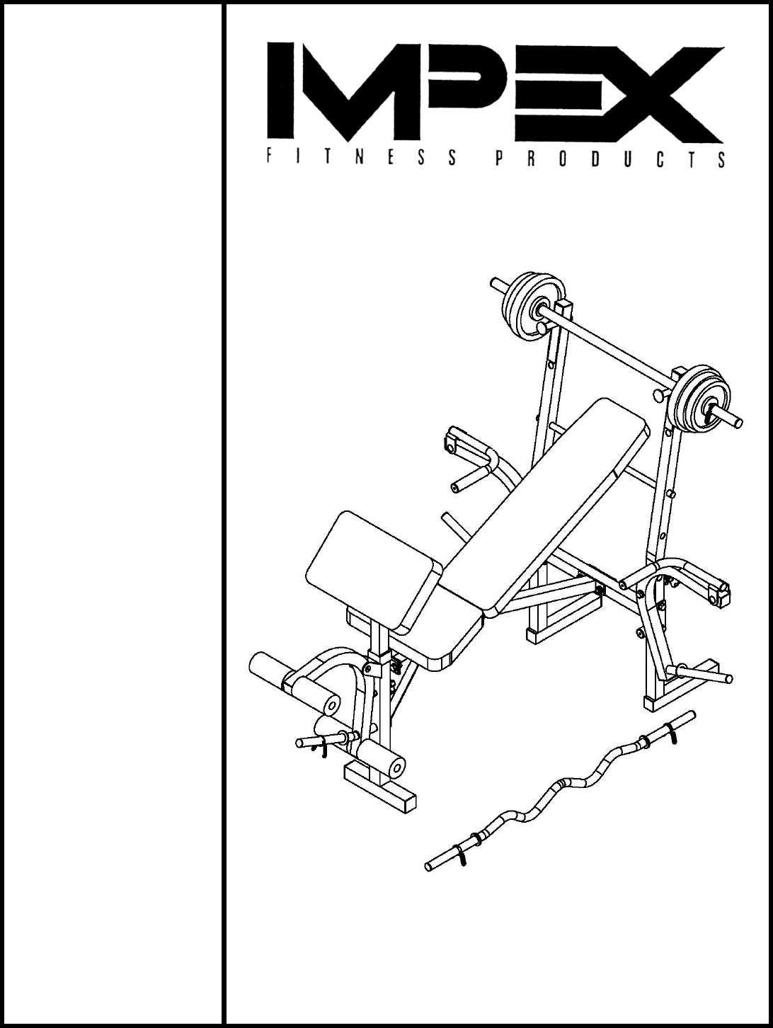 Download Impex Fitness Equipment CB-543 manual and user