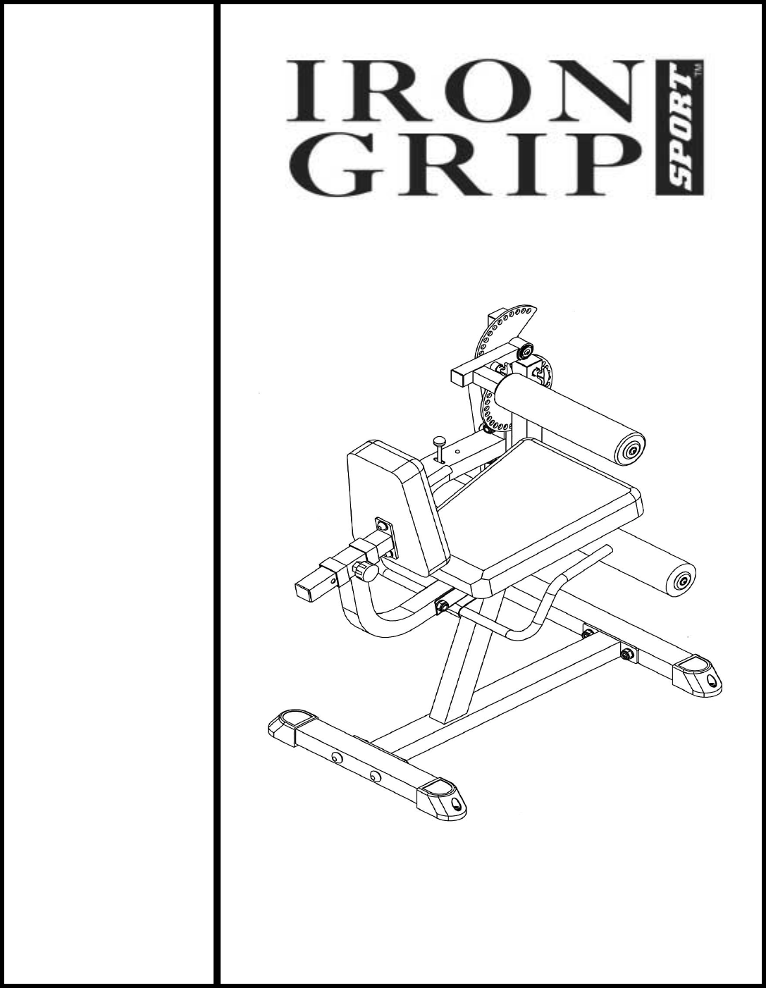 Download Impex Fitness Equipment IGS-04 manual and user