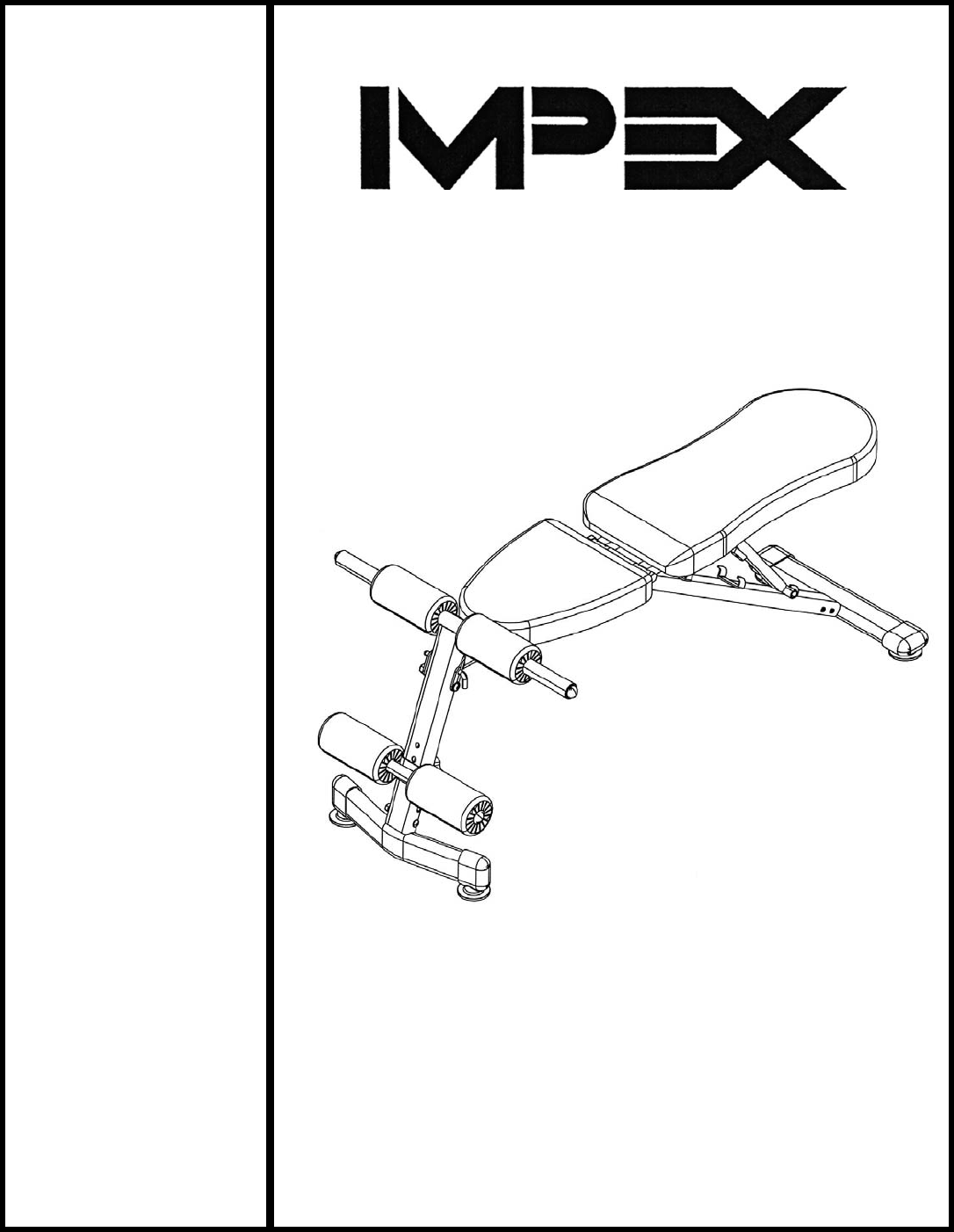 Download Impex Fitness Equipment SB-228 manual and user