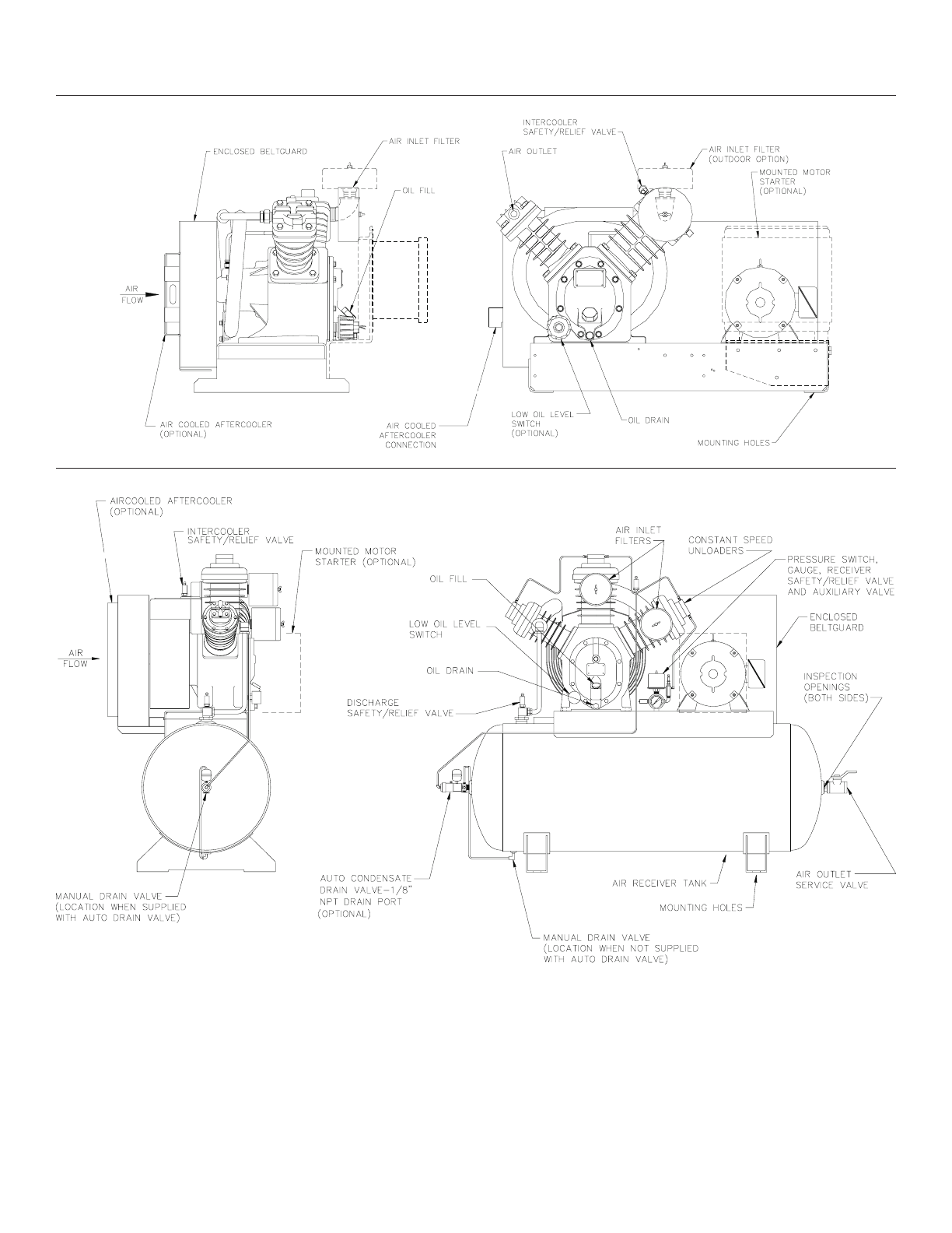 Download Ingersoll-Rand Air Compressor 15T manual and user