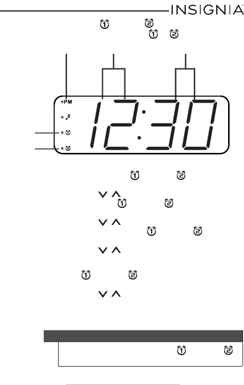 Insignia Clock Radio NS-CLOPP2 manual (page 13 of 24)