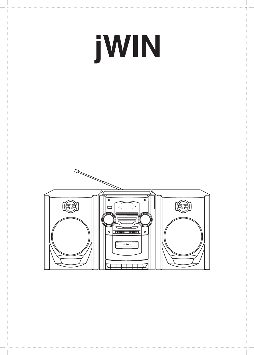 Download Jwin CD Player JX-43000D manual and user guides