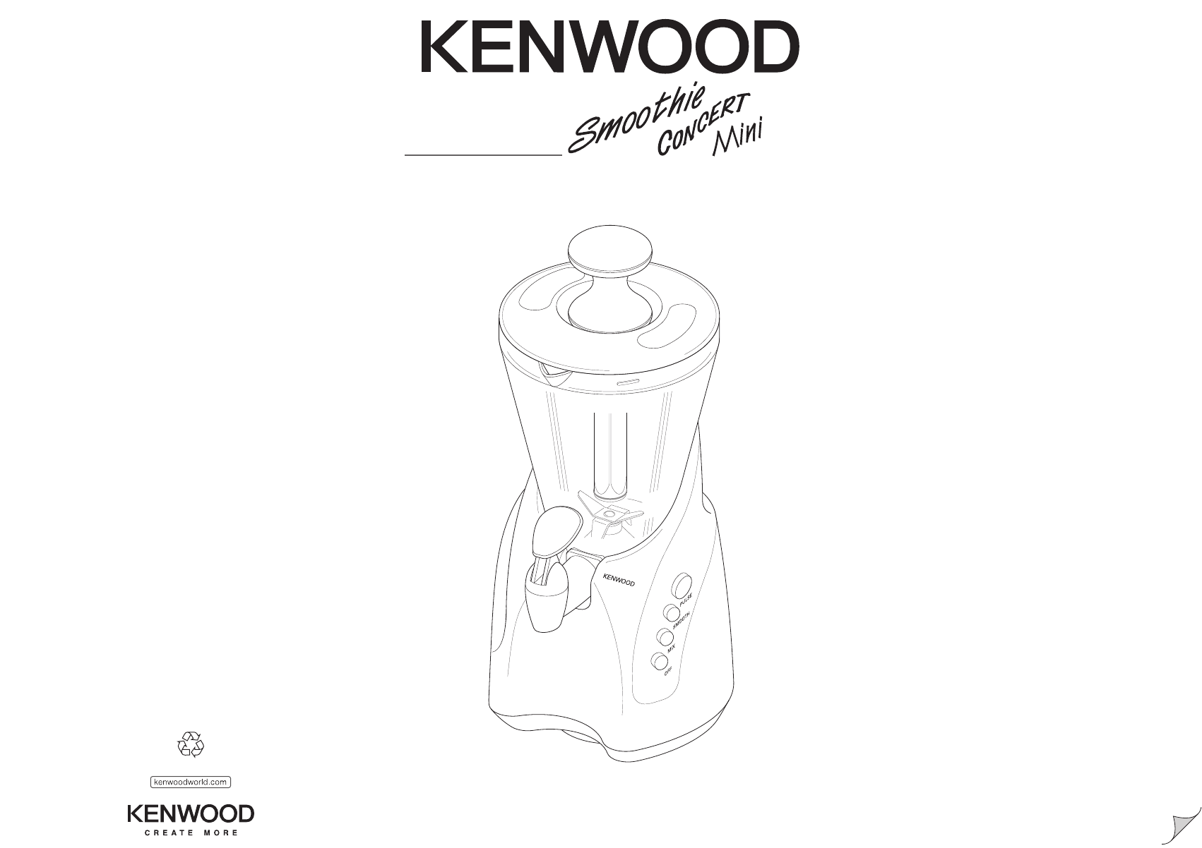 Kenwood Blender Sb240 Manual