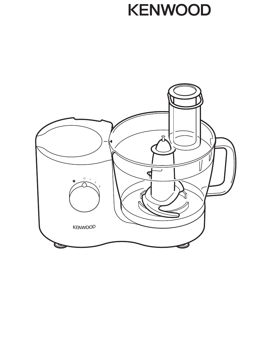 Download Kenwood Food Processor FP615 manual and user