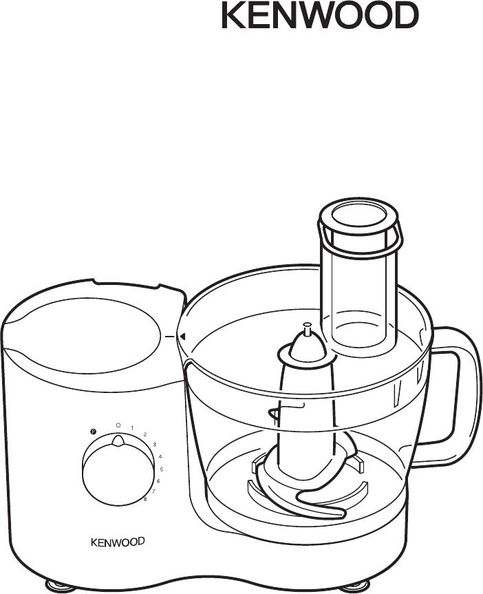 Kenwood Food Processor FP630 manual