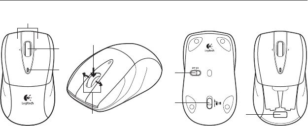Download Logitech Mouse M525 manual and user guides (page