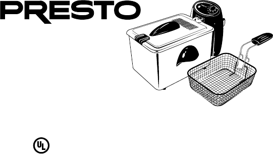 Download Presto Fryer ProFry manual and user guides (page