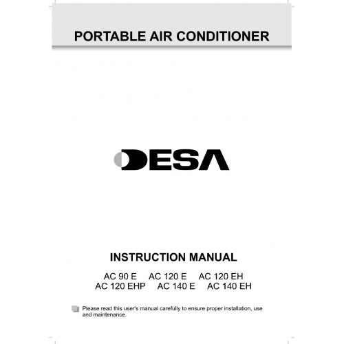 Desa AC 120 E Specifications and Manuals