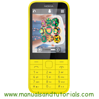 Nokia 225 Manual and user guide in PDF