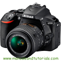 Nikon D5500 Manual And User Guide PDF
