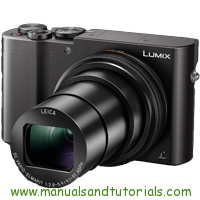Panasonic LUMIX TZ100 Manual And User Guide PDF