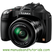 Panasonic Lumix FZ70 Manual And User Guide PDF